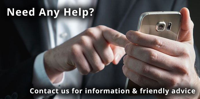Speak to one of our advisors for help or for more information.